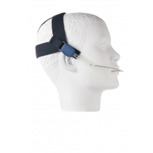 Headcap Large Dark Blue (with clips)