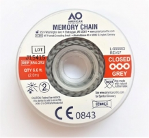Memory Chain 2m. Closed Grey