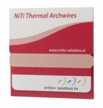 Nickel Titanium Thermal Archwire